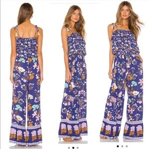 Spell Wild Bloom Strappy Pantsuit